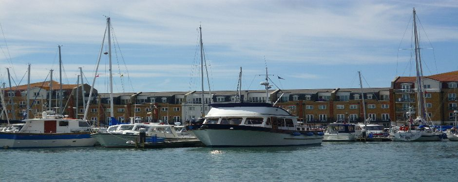 Eastbourne harbour